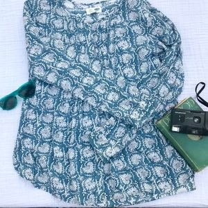 Old Navy Boho blouse button down Tunic